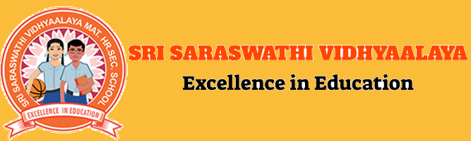 Sri Saraswathi Vidhyaalaya secondary school affiliated to the Central Board of Secondary Education