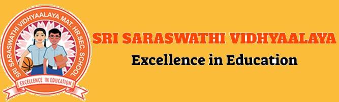 Sri Saraswathi Vidhyaalaya secondary school affiliated to the Central Board of Secondary Education